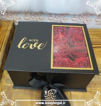 خرید باکس گل سورپرایزی در مشهد